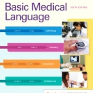 Test Bank for Basic Medical Language with Flash Cards
