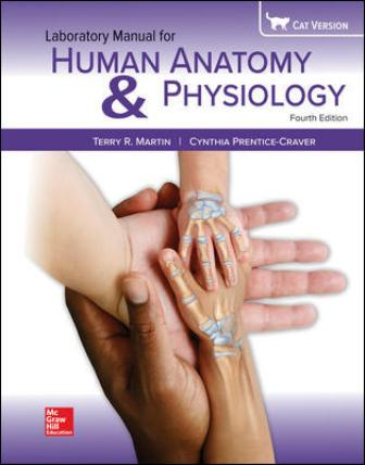 Test Bank for Human Anatomy & Physiology Cat Version 4th Edition Martin