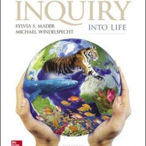 Test Bank for Inquiry into Life 15th Edition Mader