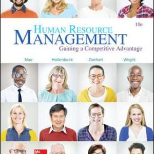 Solution Manual for Human Resource Management 10th Edition Noe