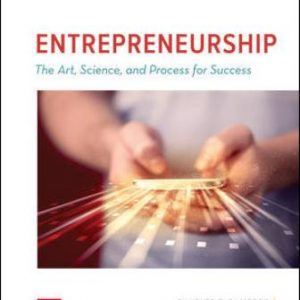 Solution Manual for ENTREPRENEURSHIP: The Art, Science, and Process for Success 3rd Edition Bamford