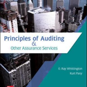Test Bank for Principles of Auditing & Other Assurance Services 21st Edition Whittington