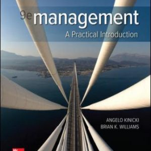 Solution Manual for Management 9th Edition Kinicki