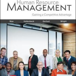 Solution Manual for Human Resource Management 11th Edition Noe