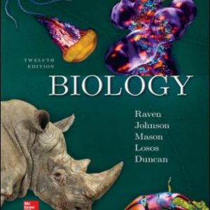 Test Bank for Biology 12th Edition Raven