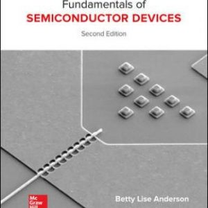 Solution Manual for Fundamentals of Semiconductor Devices 2nd Edition Anderson