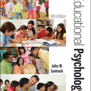 Test Bank for Educational Psychology 6th Edition Santrock