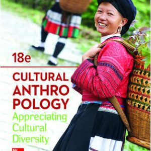 Test Bank for Cultural Anthropology 18th Edition Kottak
