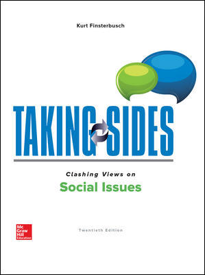 Test Bank for Taking Sides: Clashing Views on Social Issues 20th Edition Finsterbusch