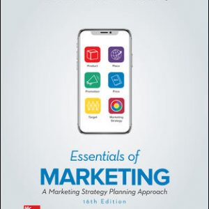 Test Bank for Essentials of Marketing 16th Edition Perreault