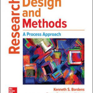 Test Bank for Research Design and Methods: A Process Approach 10th Edition Bordens