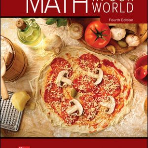 Solution Manual for Math in Our World 4th Edition Sobecki