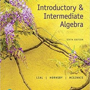 Test Bank for Introductory & Intermediate Algebra 6th Edition Lial