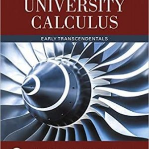 Solution Manual for University Calculus Early Transcendentals 4th Edition Hass