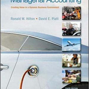 Test Bank for Managerial Accounting 10th Edition Hilton