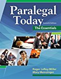 Test Bank for Paralegal Today: The Essentials 7th Edition by