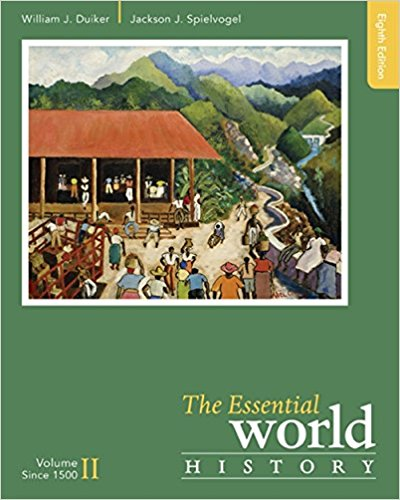 Test Bank for The Essential World History Volume II 8th Edition Duiker