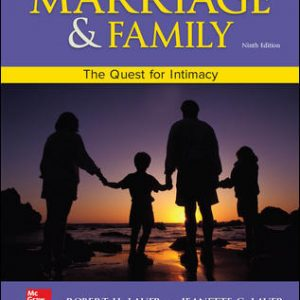 Solution Manual For Marriage and Family: The Quest for Intimacy 9th Edition Lauer