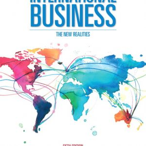 Test Bank for International Business: The New Realities 5th Edition Cavusgil