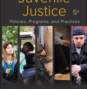 Solution Manual for Juvenile Justice: Policies Programs and Practices 5th Edition Taylor