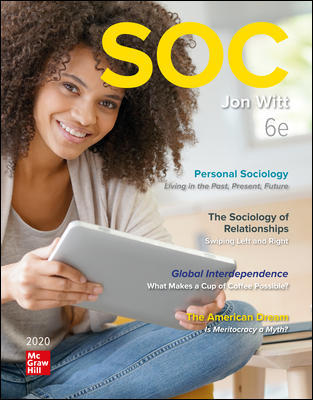 Test Bank for SOC 2020 6th Edition Witt