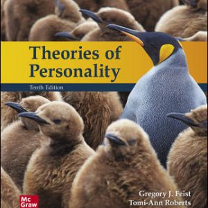 Test Bank for Theories of Personality 10th Edition Feist
