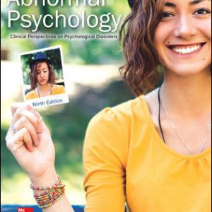Solution Manual for Abnormal Psychology: Clinical Perspectives on Psychological Disorders 9th Edition Whitbourne