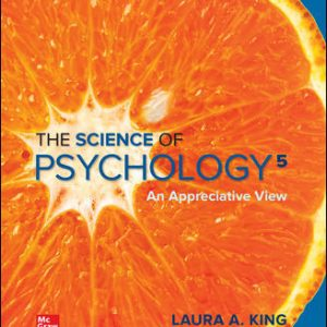 Test Bank for The Science of Psychology: An Appreciative View 5th Edition King