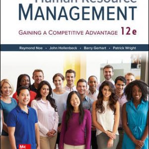 Solution Manual for Human Resource Management 12thEdition Noe