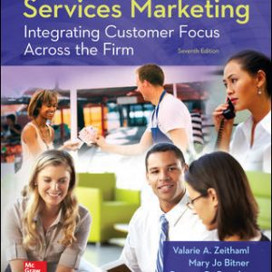 Solution Manual for Services Marketing 7th Edition Zeithaml