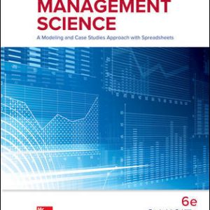 Solution Manual for Introduction to Management Science 6th Edition Hillier