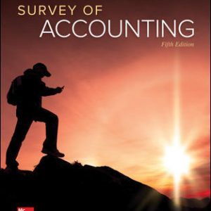 Solution Manual forSurvey of Accounting 5th Edition Edmonds