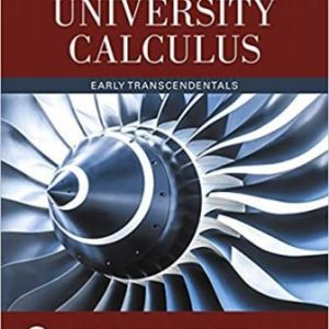 Test Bank for University Calculus Early Transcendentals 4th Edition Hass