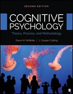 Test Bank for Cognitive Psychology Theory Process and Methodology 2nd Edition McBride