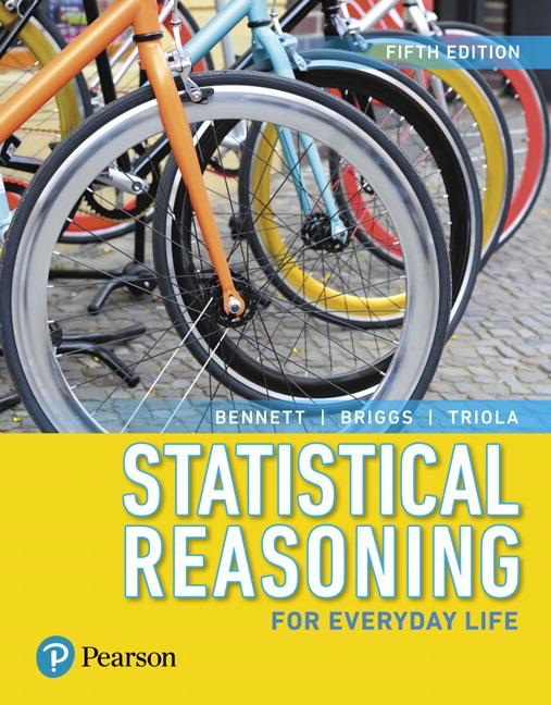 Test Bank for Statistical Reasoning for Everyday Life 5th Edition Bennett