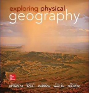 Test Bank for Exploring Physical Geography 1st Edition Reynolds