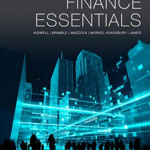 Test Bank for Finance Essentials 1st Edition Kidwell