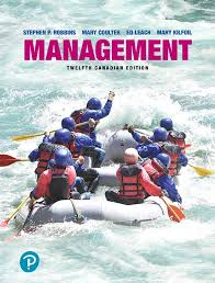 Test Bank for Management 12th Canadian Edition Robbins