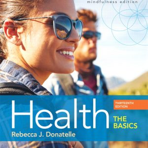 Test Bank for Health: The Basics 13th Edition Donatelle