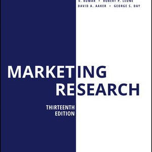 Test Bank for Marketing Research 13th Edition Kumar
