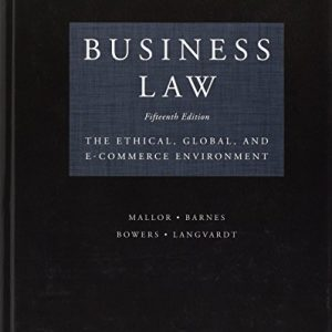 Solution Manual for Business Law: Text and Cases 15th Edition Clarkson