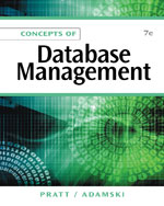 Solution Manual for Concepts of Database Management 7th Edition Pratt