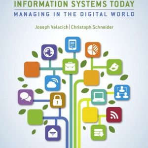 Solution Manual for Information Systems Today 8th Edition Valacich