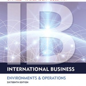 Solution Manual for International Business 16th Edition Daniels