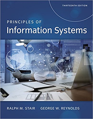 Solution Manual for Principles of Information Systems 13th Edition Stair
