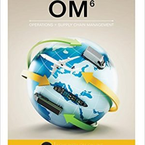 Solution Manual for OM 6th Edition Collier