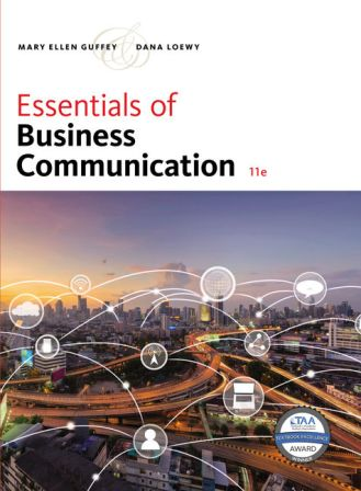 Test Bank for Essentials of Business Communication 11th Edition Guffey
