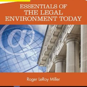 Test Bank for Essentials of the Legal Environment Today 5th Edition Miller