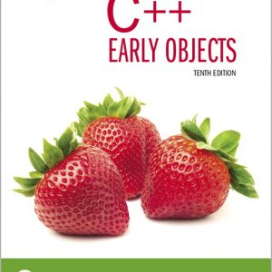 Test Bank for Starting Out with C++: Early Objects 10th Edition Gaddis