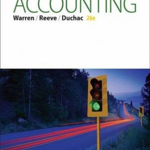 Test Bank for Accounting 26th Edition Warren